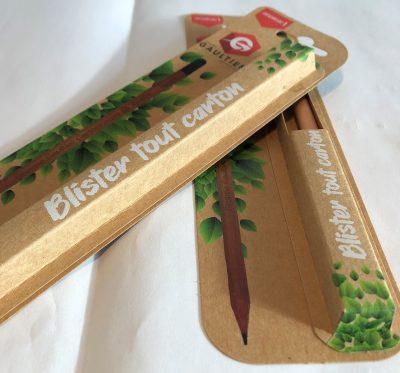 """blister tout carton-innovation groupe Gaultier Cartonnages"""