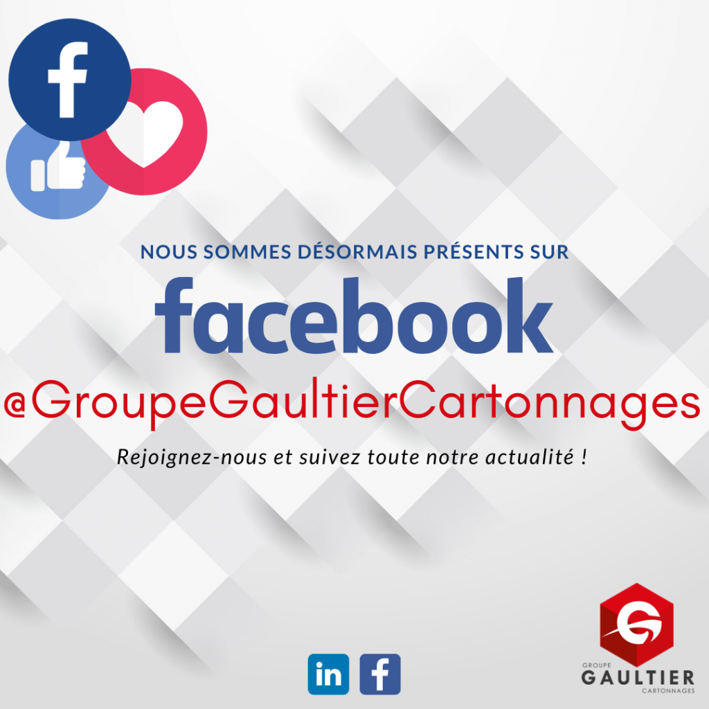 Facebook - Groupe Gaultier cartonnages