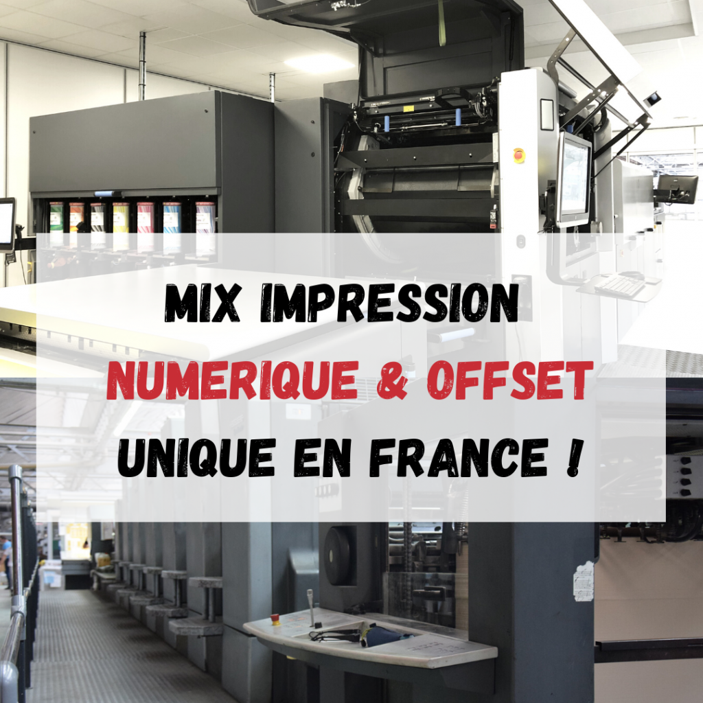 Mix impression OFFSET & NUMERIQUE