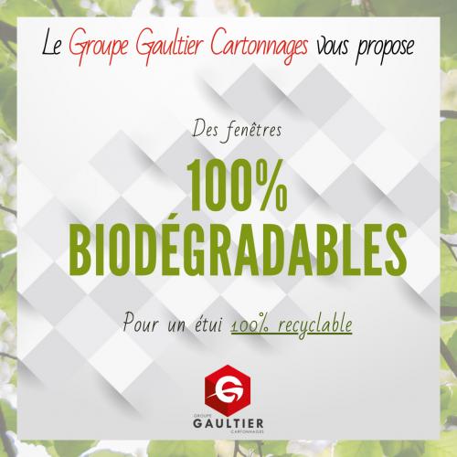 Fenêtres biodégradables