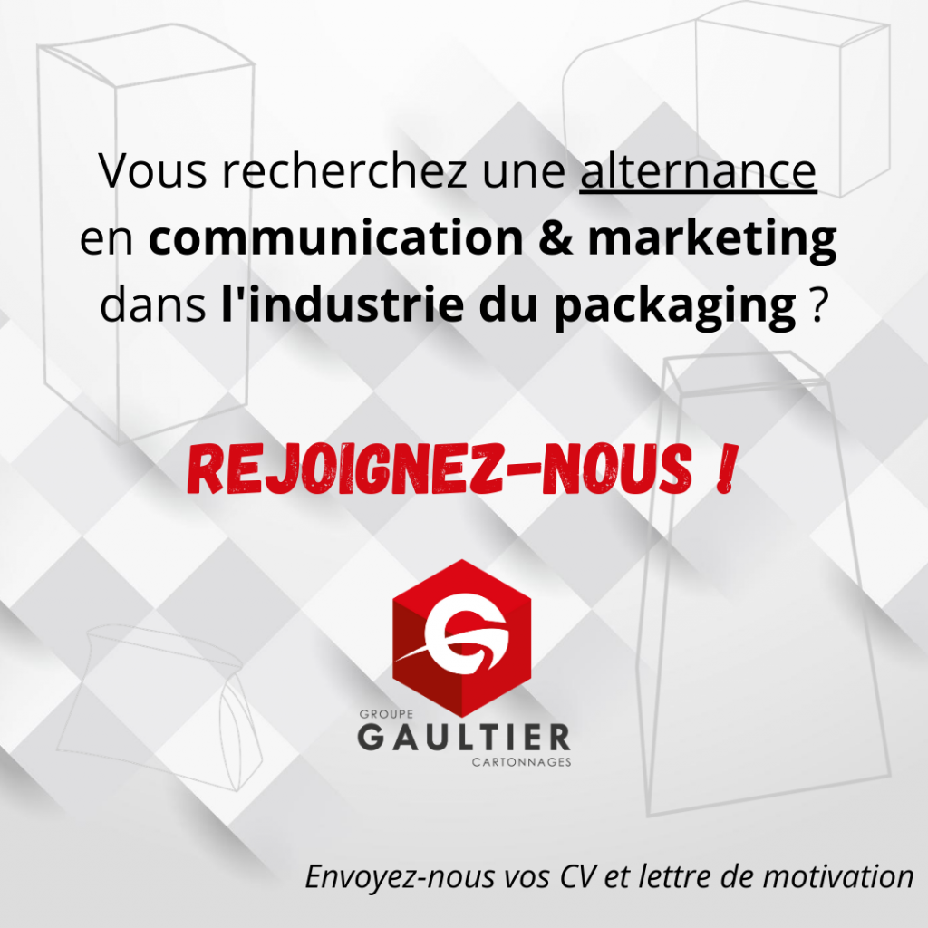 Alternance - Groupe Gaultier Cartonnages