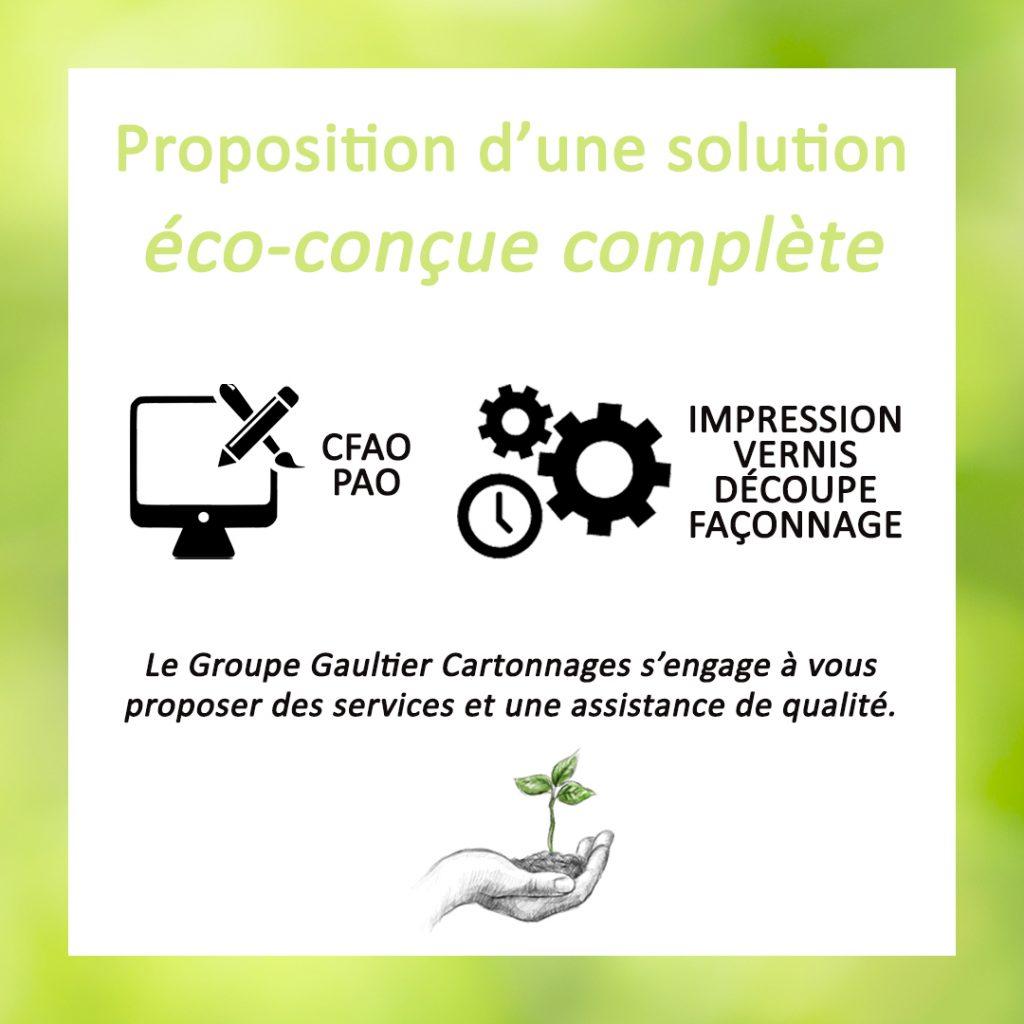 Proposition d'une solution éco-conçue complète